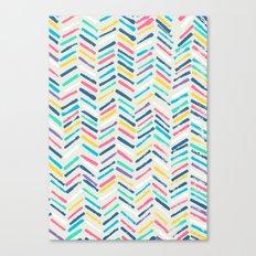 Herringbone Canvas Print