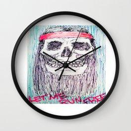 let me run free Wall Clock