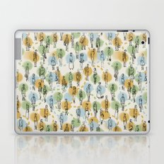 64 Popular People and a Dog (Pattern) Laptop & iPad Skin