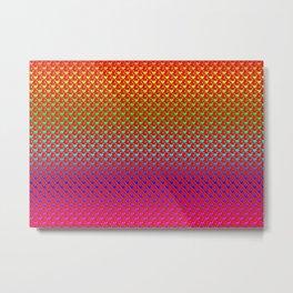 Regenbogenherzen - Rainbow hearts Metal Print
