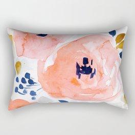 Genevieve Floral Rectangular Pillow