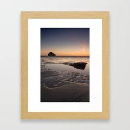 Sunset in Cornwall II Framed Art Print