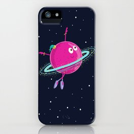 Space dancing iPhone Case