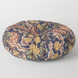 Vintage & Shabby Chic - William Morris Midnight Botanical Garden  Floor Pillow