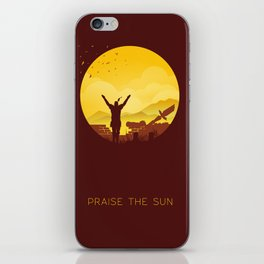 Solaire (Dark Souls) iPhone Skin