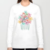 matisse Long Sleeve T-shirts featuring Flower Bouquet by Picomodi