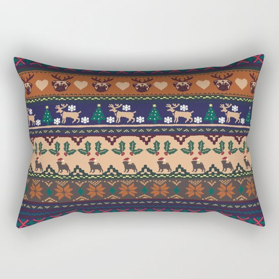 Christmas With You Rectangular Pillow