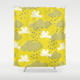 Rain Birds - Sulpher Shower Curtain