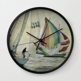 Spinnaker up Wall Clock