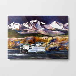NW Ferry Boat Metal Print