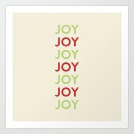 Joy! Art Print
