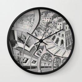 Escher - Print Gallery Wall Clock