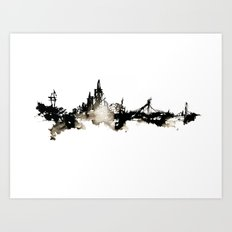 SF Skyline Art Print