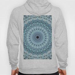Mandala in cold winter tones Hoody