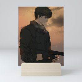 Hijikata Toushirou Gintama Mini Art Print