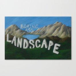 Serenity Lake Canvas Print
