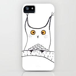 Squarish Owl iPhone Case