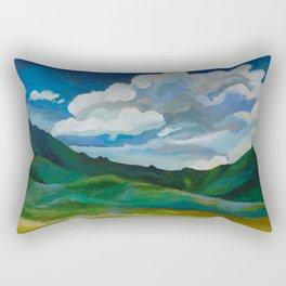 Valley Gratitude Rectangular Pillow