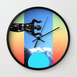 #! Wall Clock