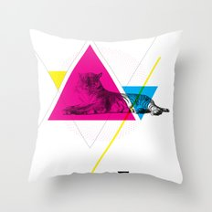 HYPSTER TYGER Throw Pillow