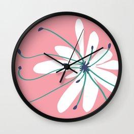 Linden Flower Wall Clock