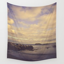 Her Dreams Stretched as Far as the Sea Was Wide Wall Tapestry