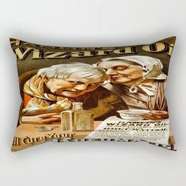 Vintage poster - Hamlin's Wizard Oil Rectangular Pillow