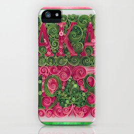 Alpha Kappa Alpha 1908 iPhone Case