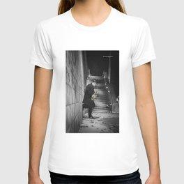 The golden saxophone player T-shirt