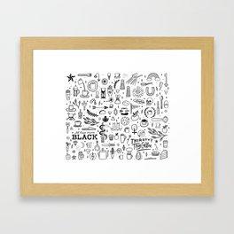 Coffee Life Framed Art Print