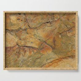Rough sandstone Serving Tray