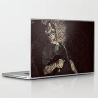 doom Laptop & iPad Skins featuring MF Doom by Ferdinand Bardamu