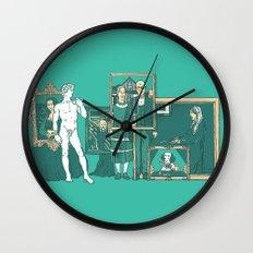 Meeting the parents Wall Clock