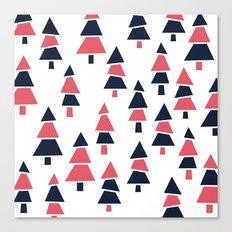 Forrest Pattern Canvas Print