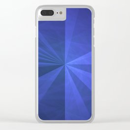 Simple Complex Rays Clear iPhone Case