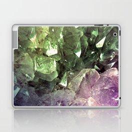 Two Tone Crystal Geode Laptop & iPad Skin