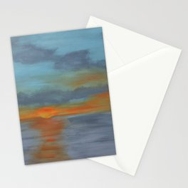 Maine Sunset Stationery Cards