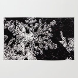 Delicate snowflake Rug
