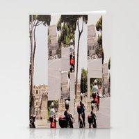 roman Stationery Cards featuring Roman Traffic by Eva Lesko