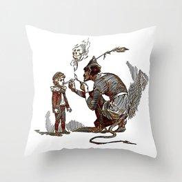 Resist the Temptation Throw Pillow