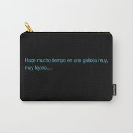 Espanol Wars Carry-All Pouch