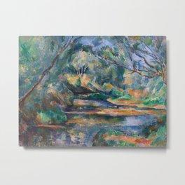 The Brook by Paul Cézanne Metal Print