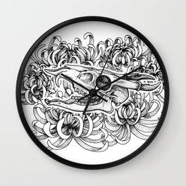Muntjac Wall Clock