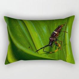 The Beetle... Rectangular Pillow