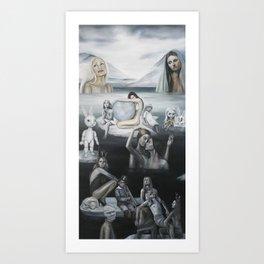 Valley of the Frozen Tears Art Print