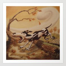 houndstooth Art Print