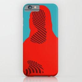 Mona, nu mach aber mal ein Punkt ·5 iPhone Case
