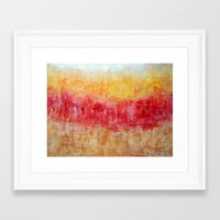 the strokes Framed Art Prints featuring Strokes by Bonnie J. Breedlove