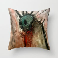 Wretched Zombie Filth Throw Pillow