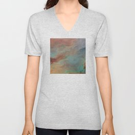 The Heart Feels What the Heart Feels: Abstract Unisex V-Neck